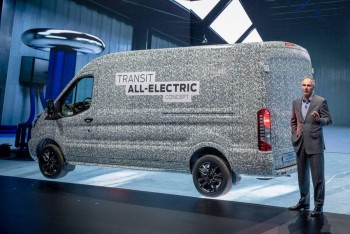 Xe Ford chạy điện ra mắt trong tháng 11 | Ford Transit Chạy Điện Mới 2020